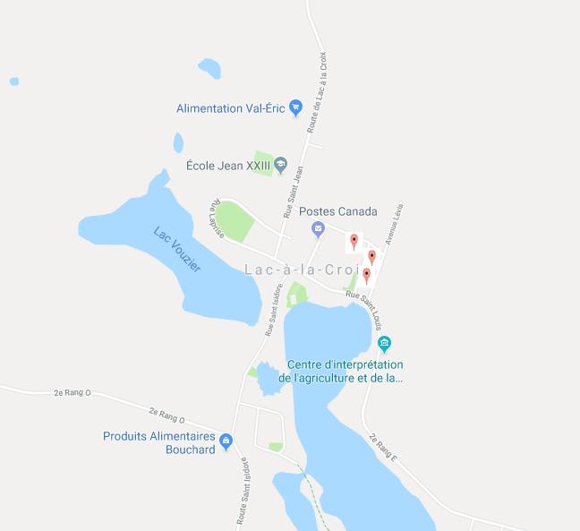 Réseau secteur Lac-à-la-Croix .ventes de garage